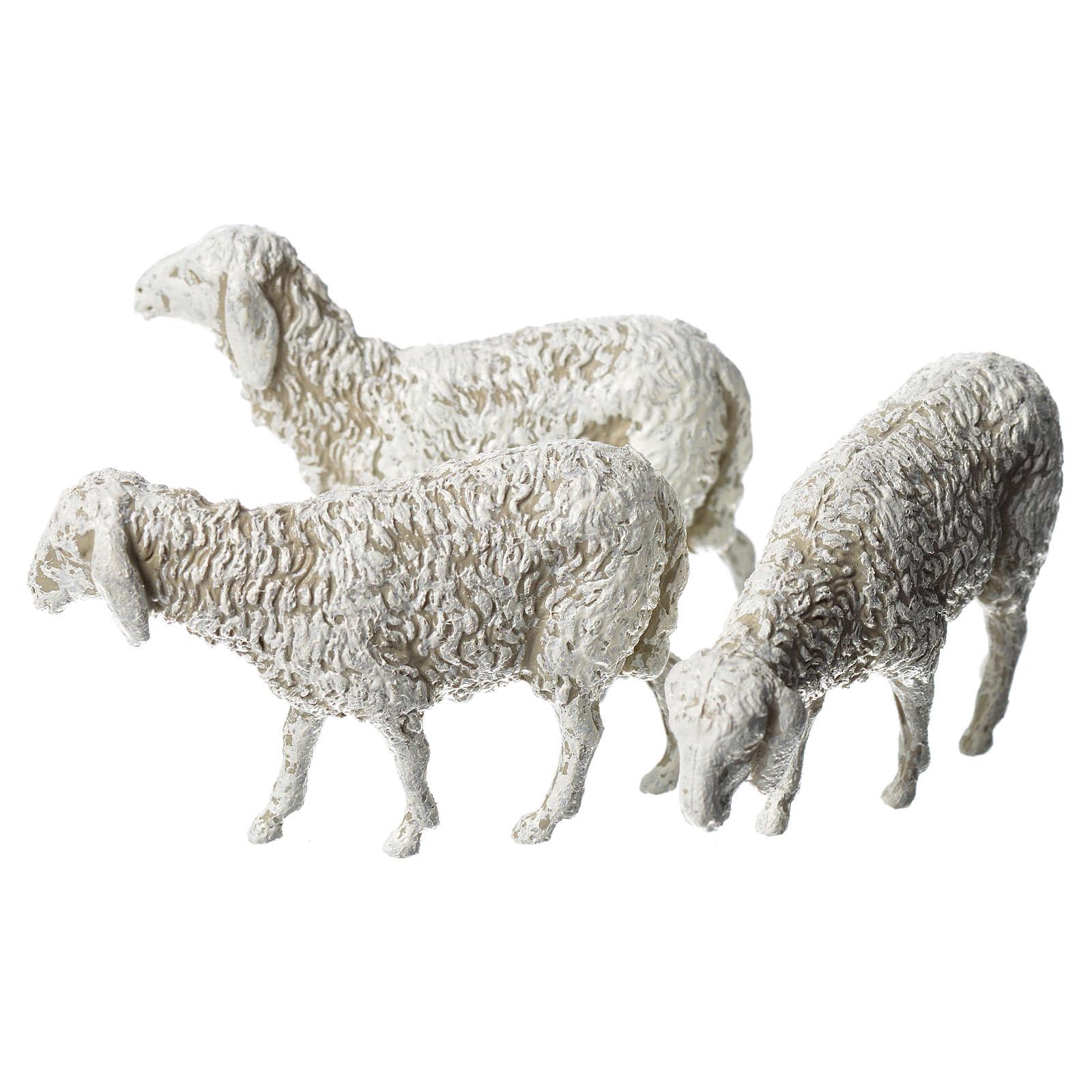 Pecore 6 pz Moranduzzo 8 cm 4