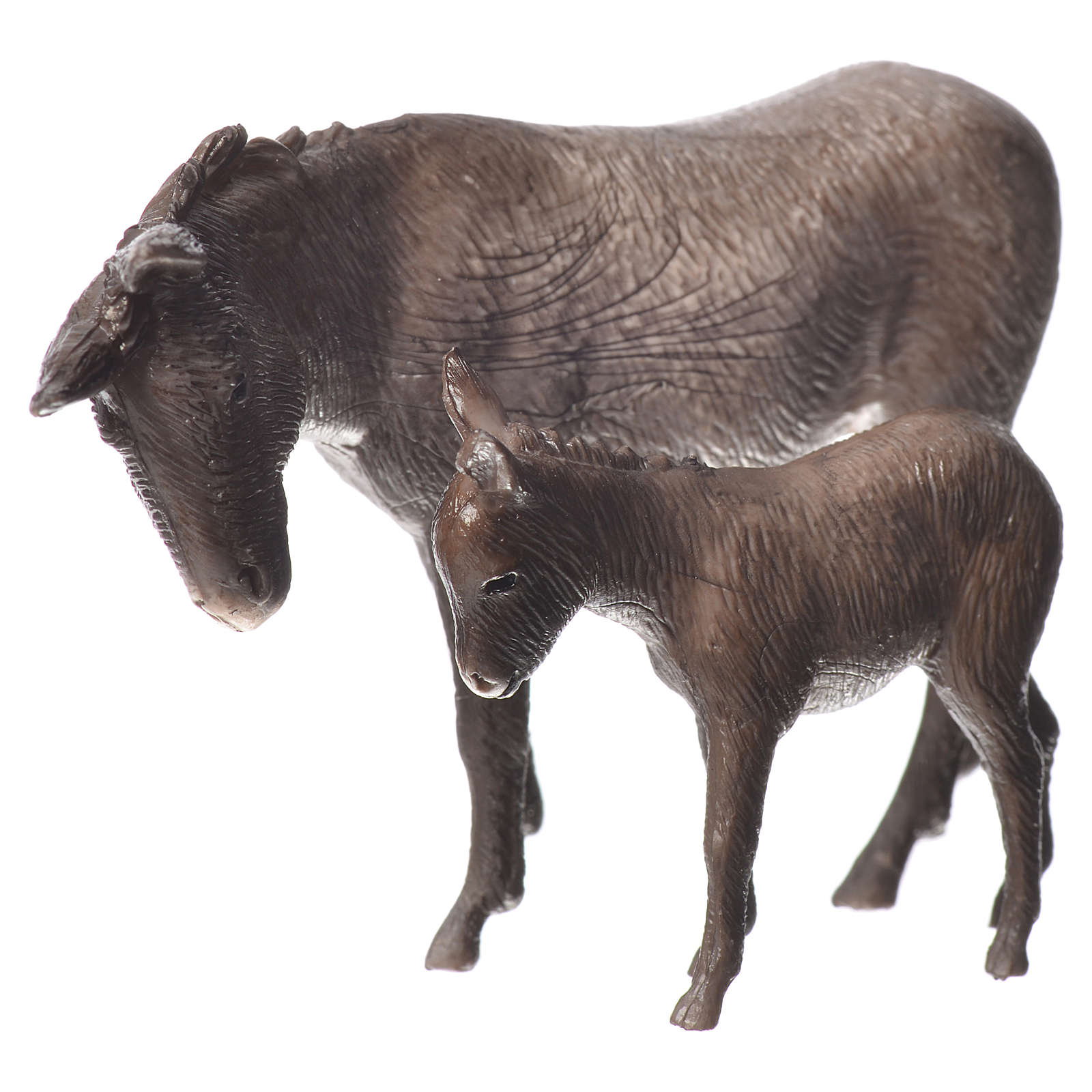 Nativity Scene donkey and colt by Moranduzzo 8cm 4