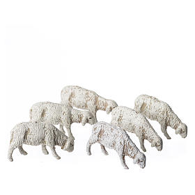 Belén Moranduzzo: Ovejas 6 figuras Belén Moranduzzo 6 cm