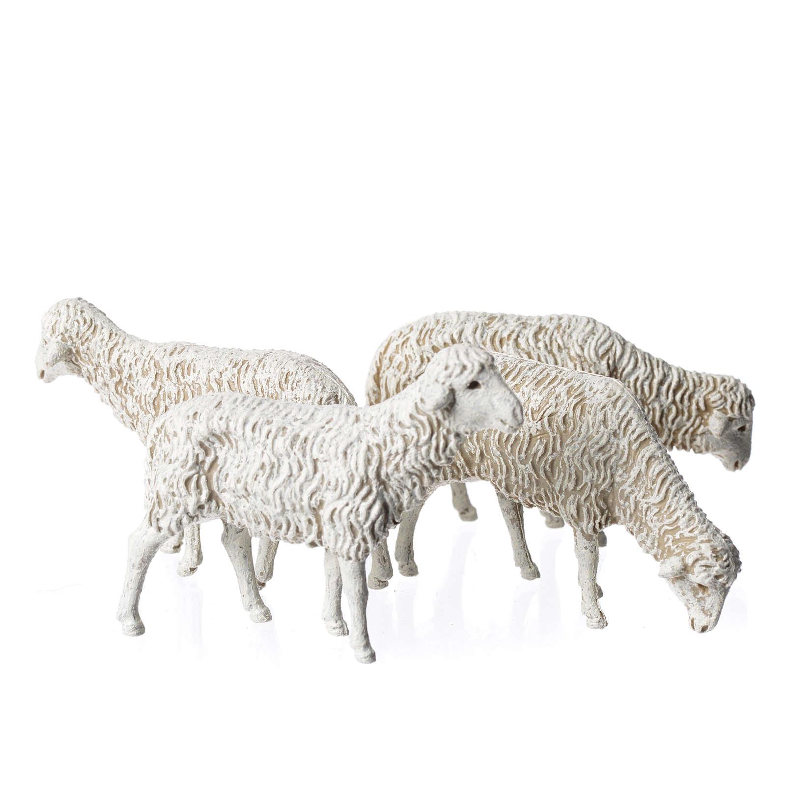 Sheep 12cm Moranduzzo, 4pieces 4