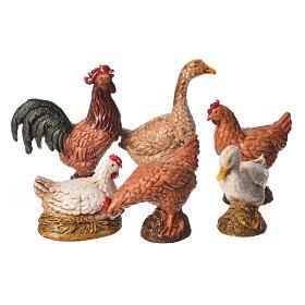 Roosters 12cm Moranduzzo, 6pcs s1