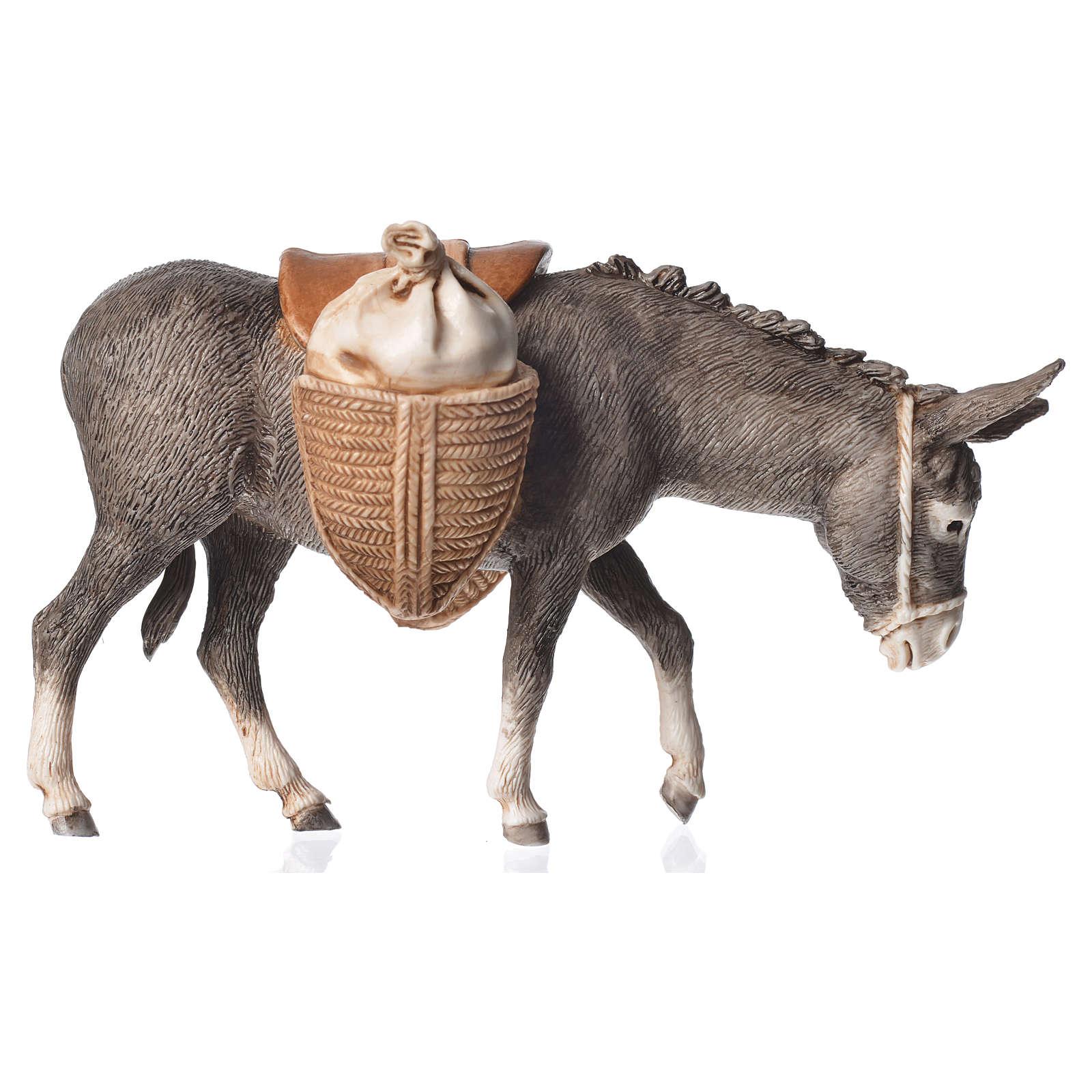 Standing donkey with saddle 13cm Moranduzzo 4