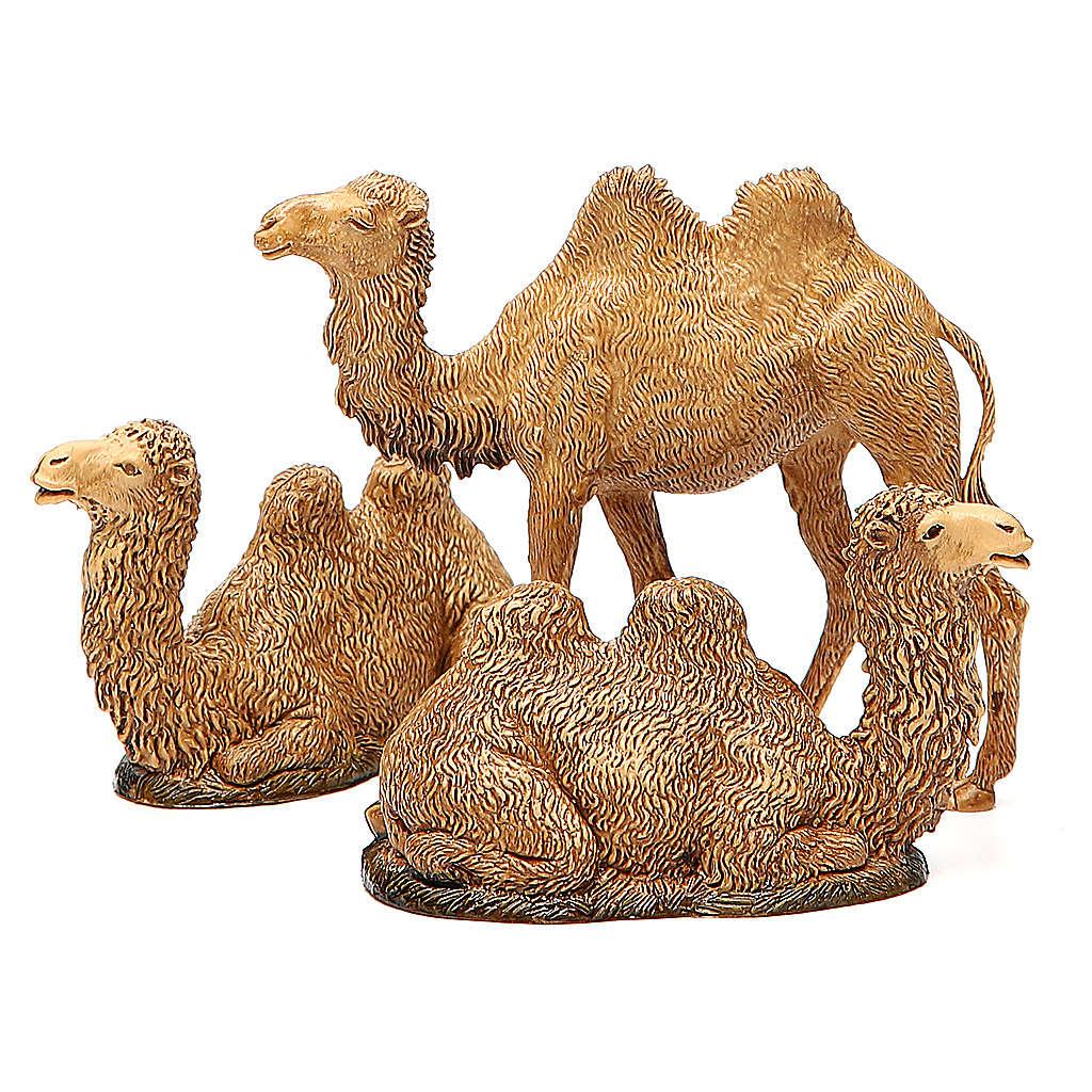Wielbłądy 3 szt. szopka Moranduzzo 8-10 cm 4