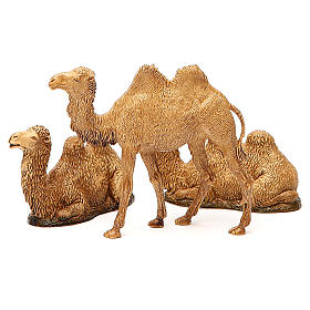 Wielbłądy 3 szt. szopka Moranduzzo 8-10 cm s7