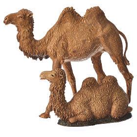 Camelos 3 peças para Presépio Moranduzzo com figuras de altura média 8-10 cm s4