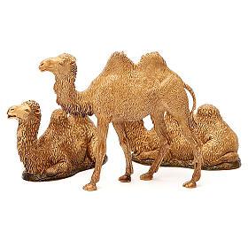Camelos 3 peças para Presépio Moranduzzo com figuras de altura média 8-10 cm s7