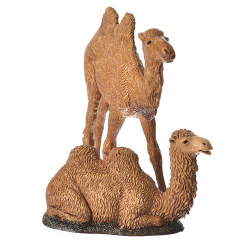 Camelos 3 peças para Presépio Moranduzzo com figuras de altura média 8-10 cm 5