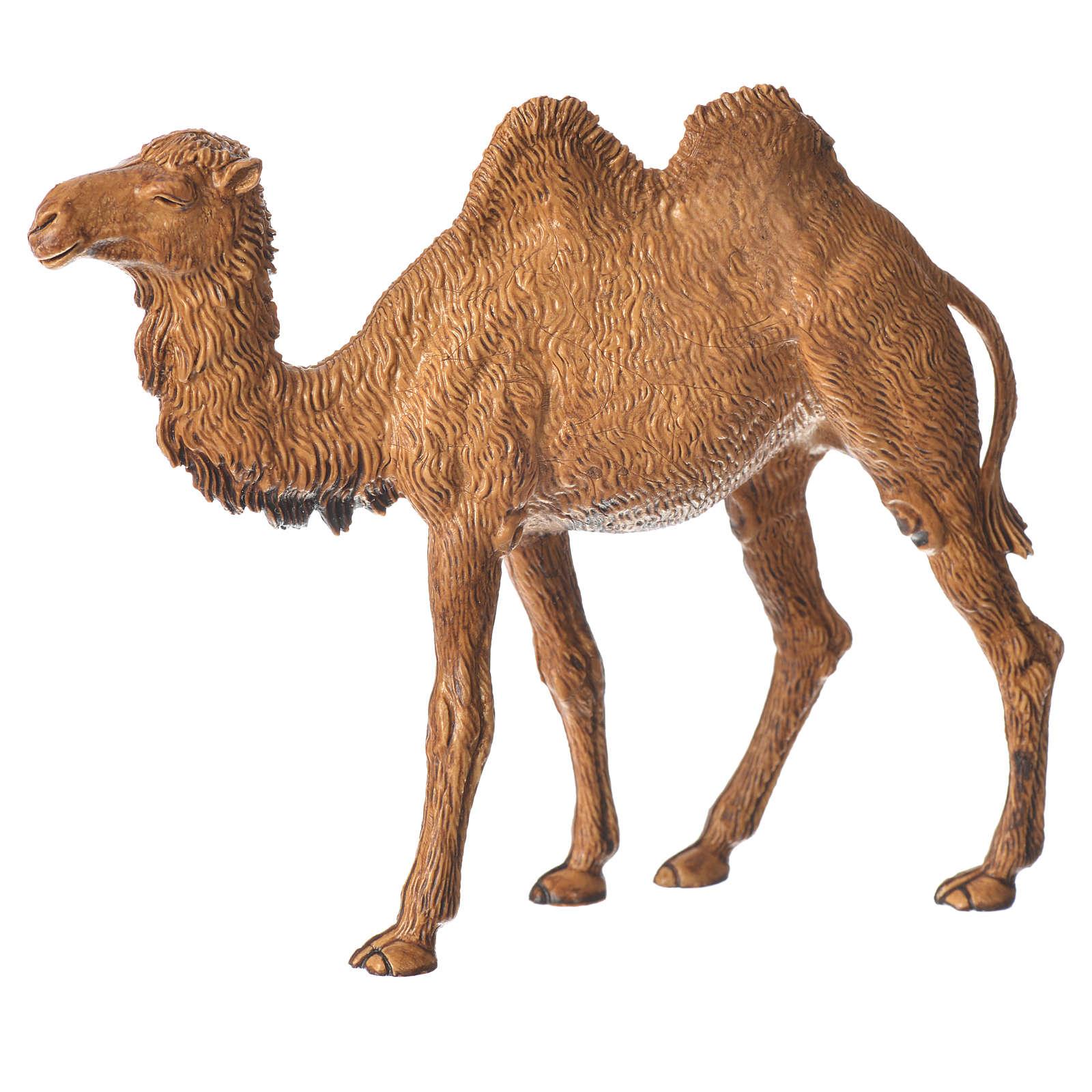 Camelo em pé para presépio Moranduzzo figuras altura média 10 cm 4
