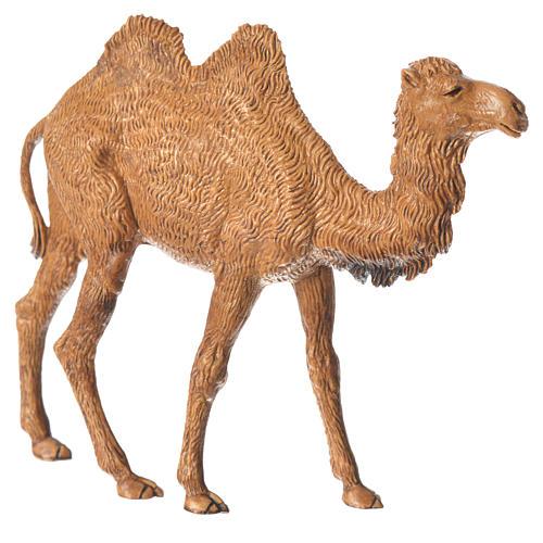 Camelo em pé para presépio Moranduzzo figuras altura média 10 cm 2