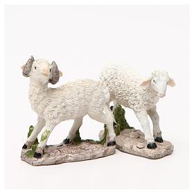 Mouton pour crèche 18cm s7