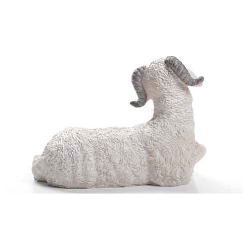 Sheep nativity figurine in resin 30/40cm 3
