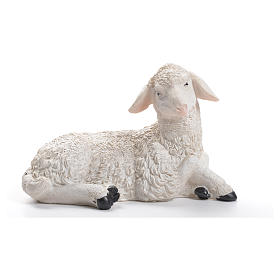 Owca żywica szopka 30/40 cm s1