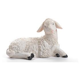 Sheep nativity figurine in resin 30/40cm s1