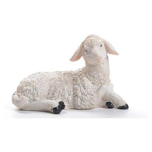 Sheep nativity figurine in resin 30/40cm 1