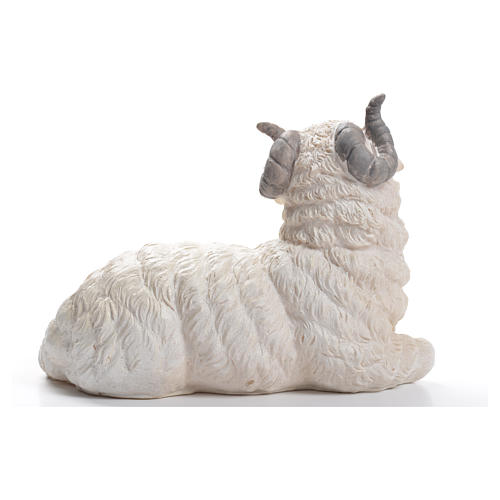 Sheep nativity figurine in resin 50cm 3