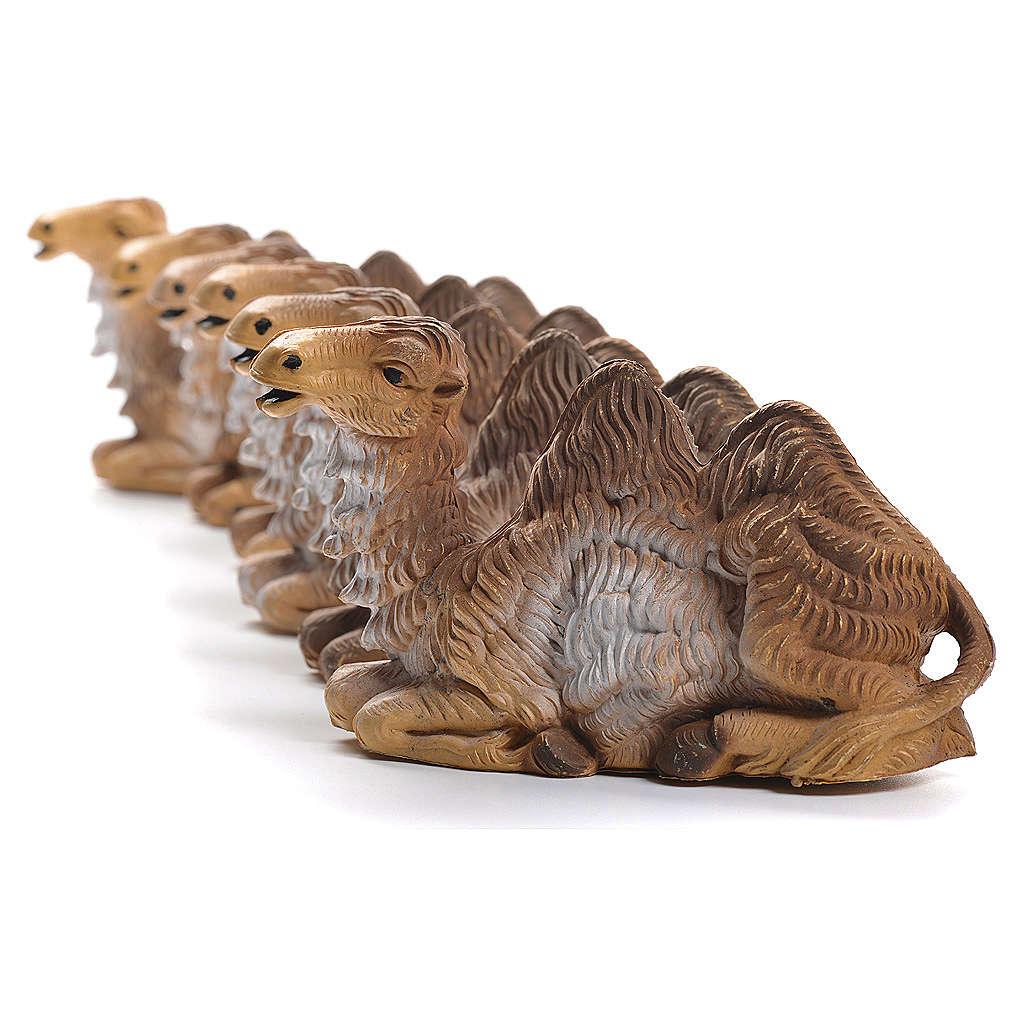 Chameaux pour crèche 12-15cm 6pcs 3