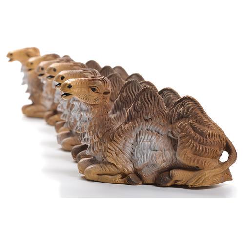 Chameaux pour crèche 12-15cm 6pcs 5