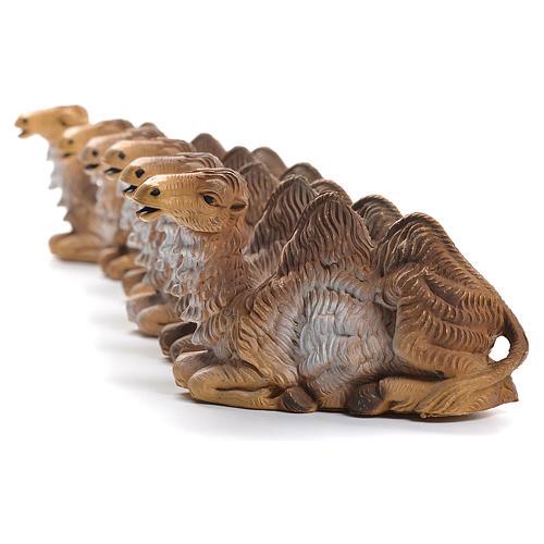 Chameaux pour crèche 12-15cm 6pcs 2