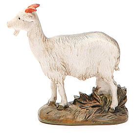 Cabra resina pintada para belén cm 12 Línea barata Landi s2