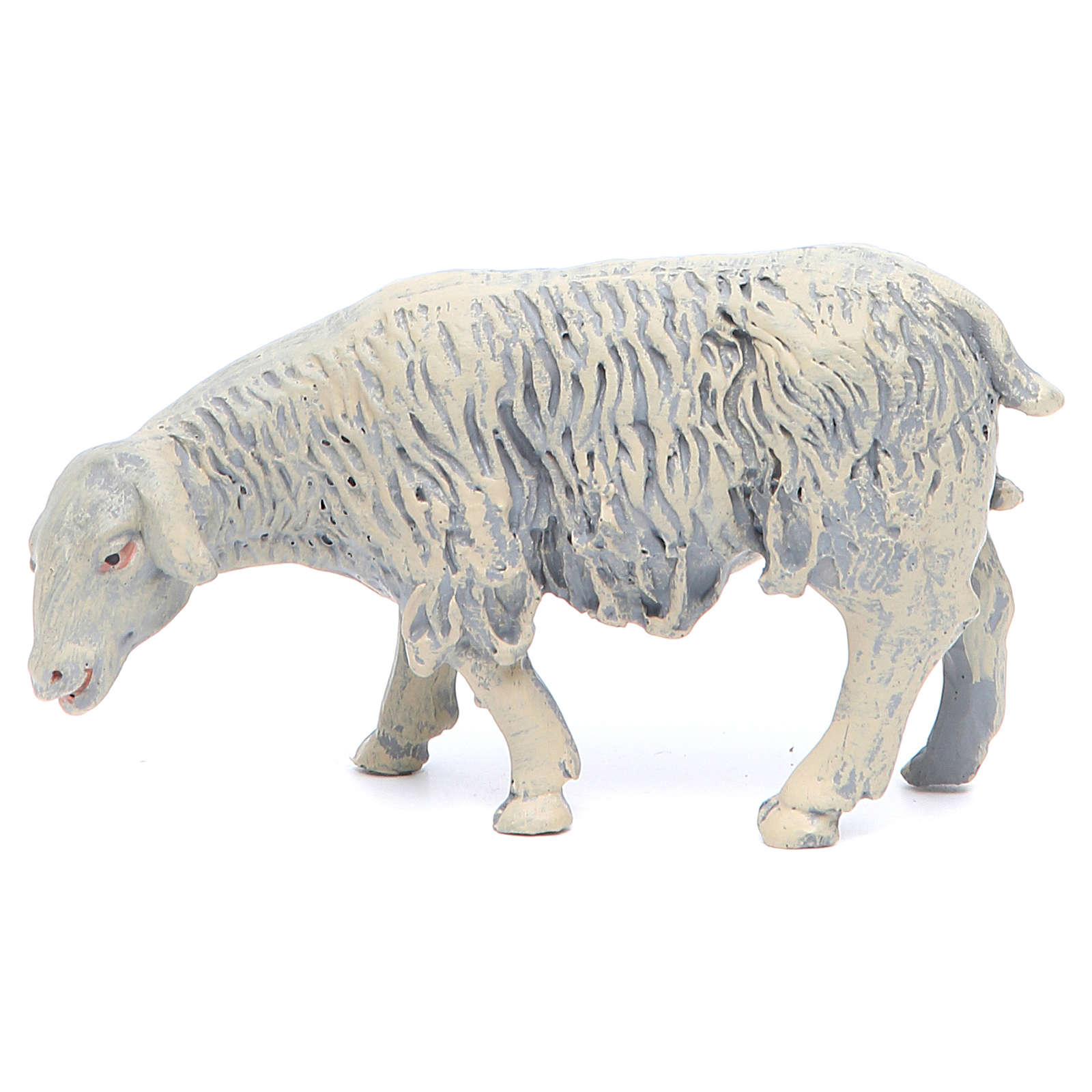 Sheep in resin 4 pieces 25 cm crib 3