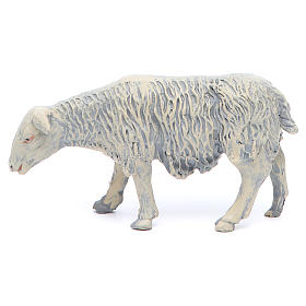 Sheep in resin 4 pieces 25 cm crib s3