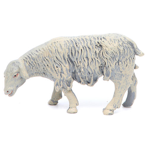 Sheep in resin 4 pieces 25 cm crib 2