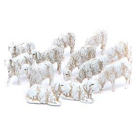 Crèche Moranduzzo: Moutons 6 cm Moranduzzo set 12 pièces