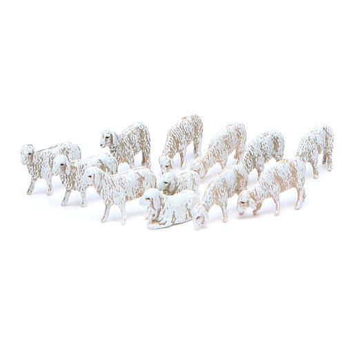 Sheep by Moranduzzo for 6cm nativity scene, set of 12 2