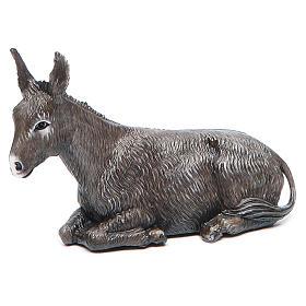 Presépio Moranduzzo: Burro presépio Moranduzzo figuras altura média 12 cm estilo clássico
