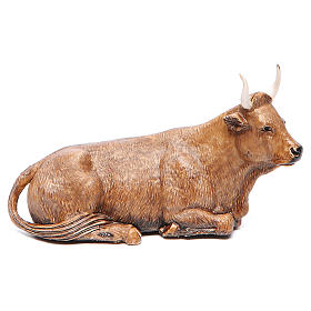 Ox measuring 12cm by Moranduzzo nativity scene s1