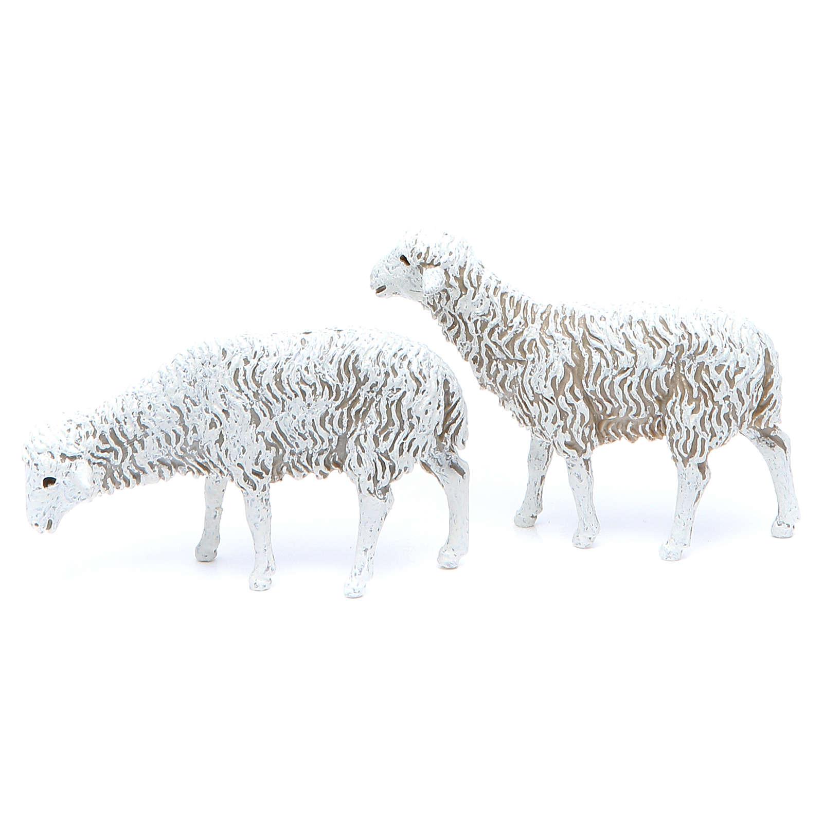 Pecore 12 cm Presepe Moranduzzo 8 pz 4