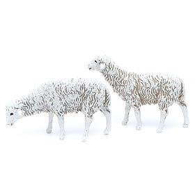Pecore 12 cm Presepe Moranduzzo 8 pz s2