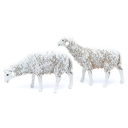 Pecore 12 cm Presepe Moranduzzo 8 pz 2