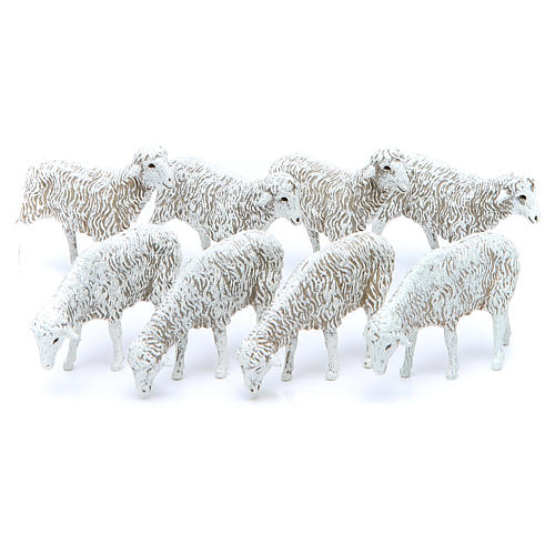 Owce 12cm Szopka Moranduzzo 8 sztuk 1