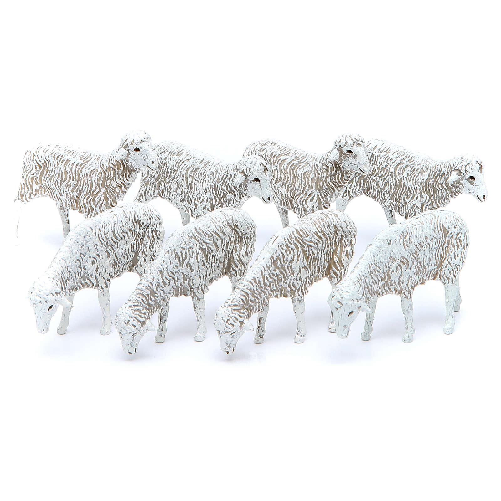 Sheep for 12cm Moranduzzo nativity scene set of 8 4