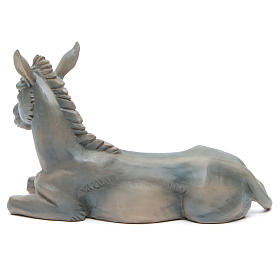 Boeuf et âne en résine pour crèche 50 cm s5