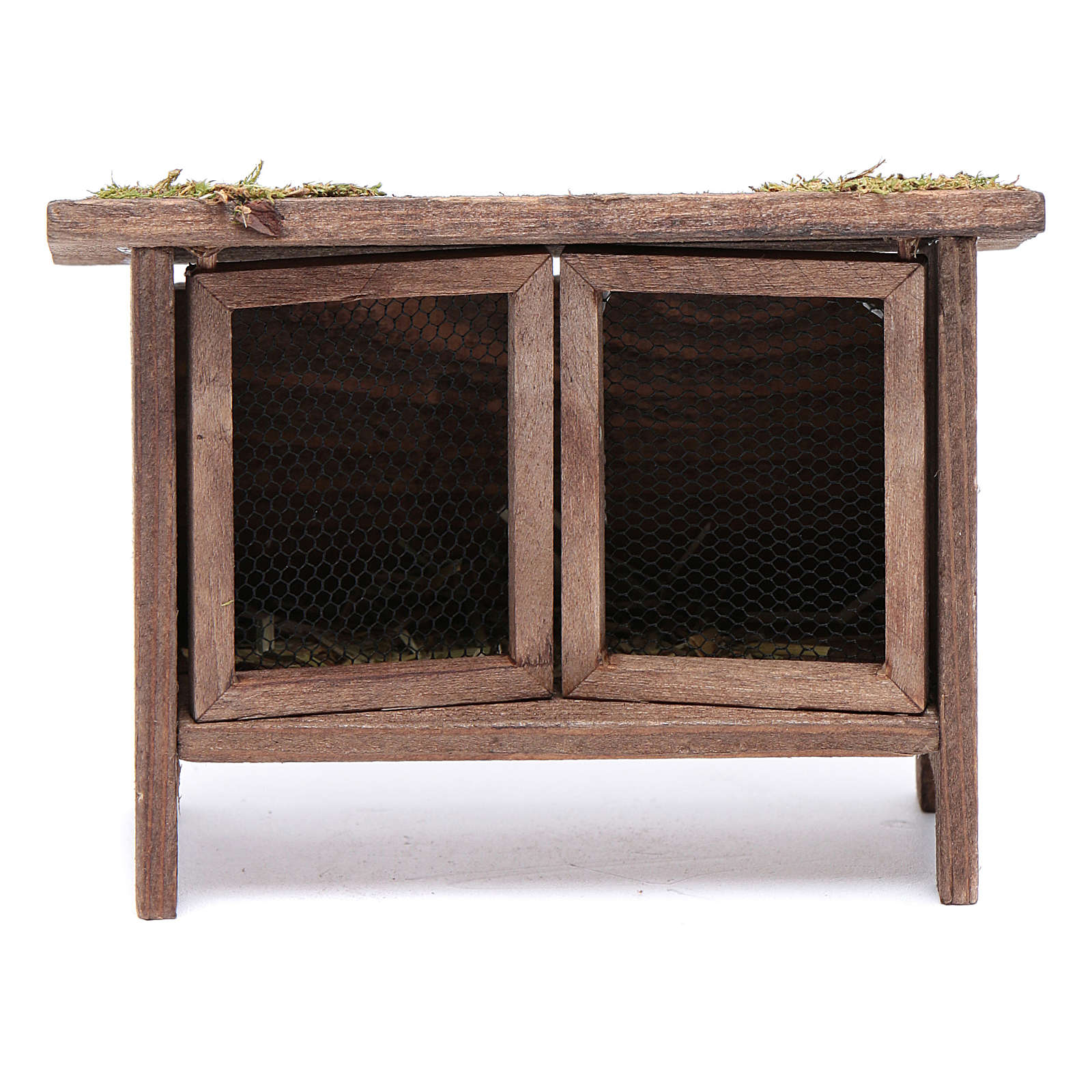 Rabbit hutch for manger scene 3
