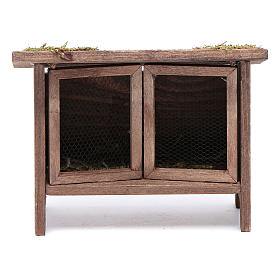 Rabbit hutch for manger scene s1