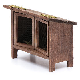 Rabbit hutch for manger scene s3