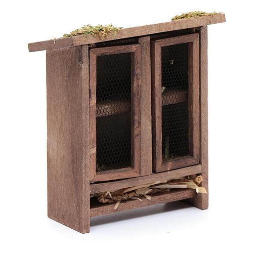 Establo em miniatura para coelhos - 10x10x5 cm 4