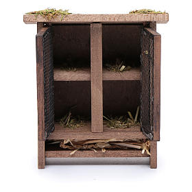 Rabbit hutch for nativity scene s2
