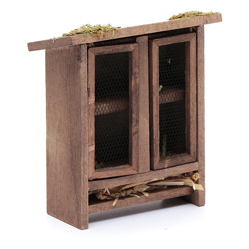 Rabbit hutch for nativity scene 4