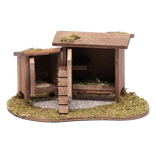 Abri pour poules et lapins 7x13,8x10 cm 2