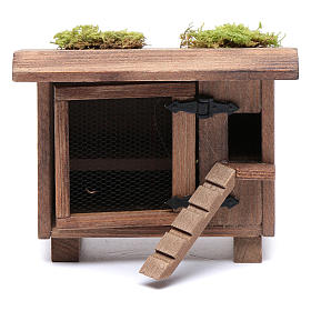 Animals for Nativity Scene: Henhouse with small ladder