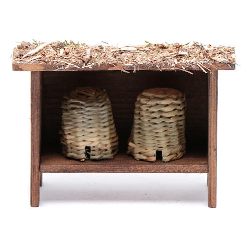 Wooden structure for beehive 1