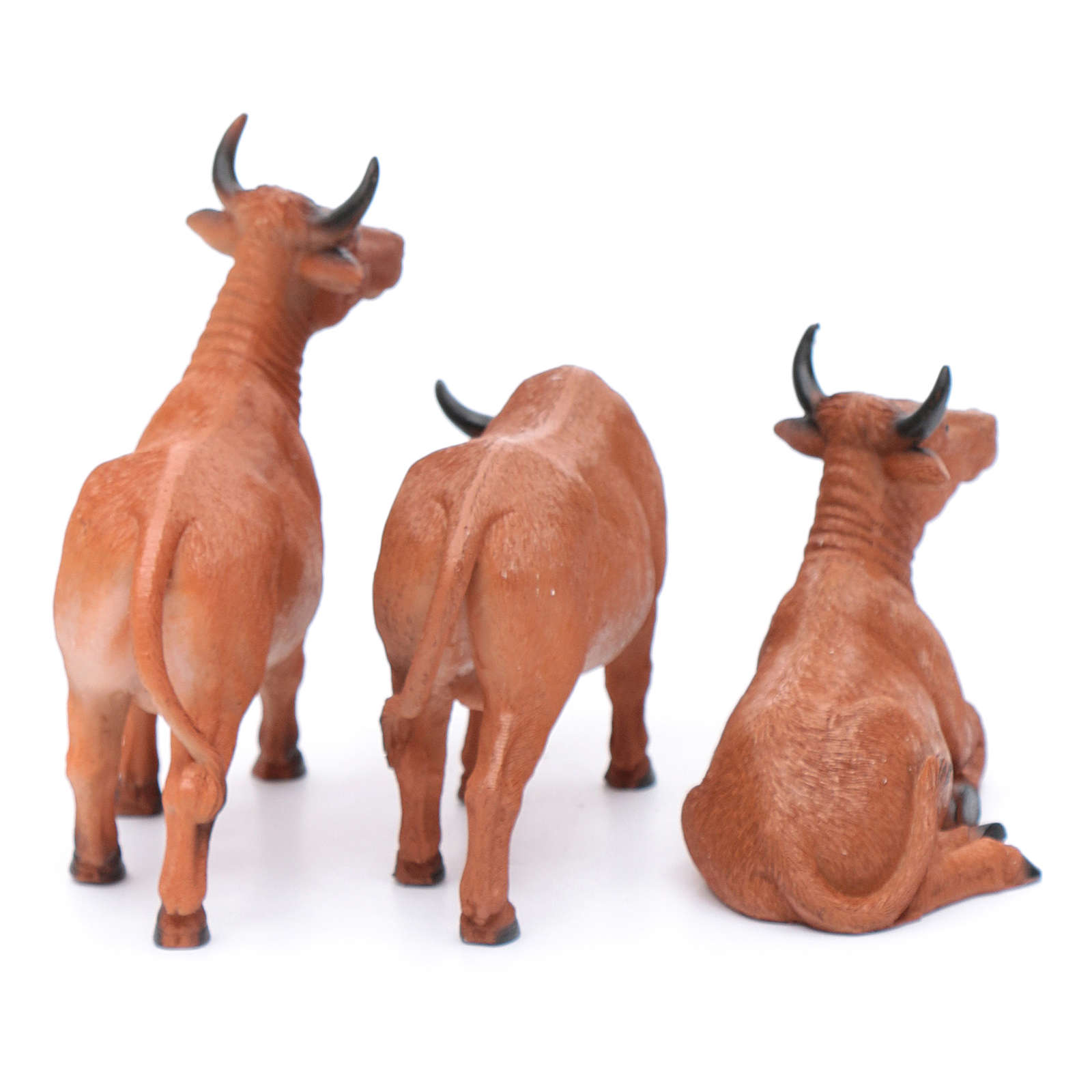 Oxen for 20 cm crib set of 3 pieces 3