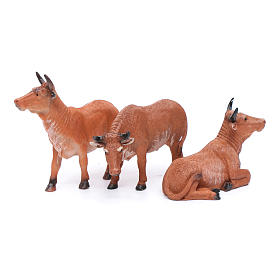 Oxen for 20 cm crib set of 3 pieces s2