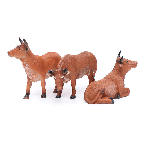 Oxen for 20 cm crib set of 3 pieces 2