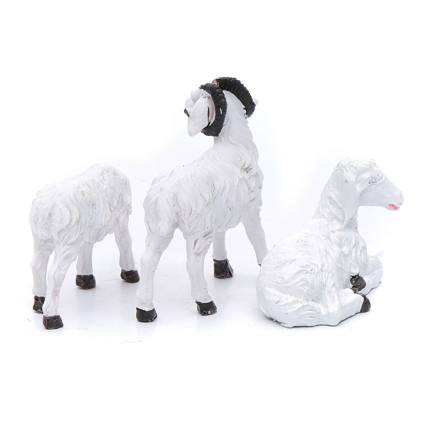 Sheep for 13 cm crib set of 3 pieces 3
