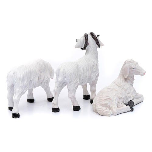 Sheep for 20 cm crib set of 3 pieces 2